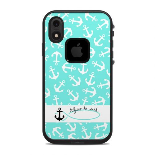 Refuse to Sink LifeProof iPhone XR fre Case Skin