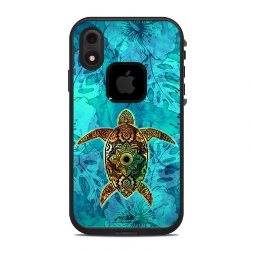 Sacred Honu LifeProof iPhone XR fre Case Skin