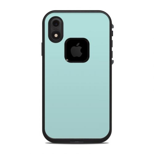 Solid State Mint LifeProof iPhone XR fre Case Skin