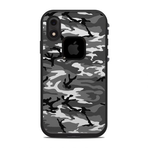 Urban Camo LifeProof iPhone XR fre Case Skin