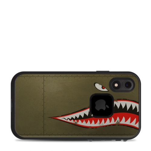 USAF Shark LifeProof iPhone XR fre Case Skin