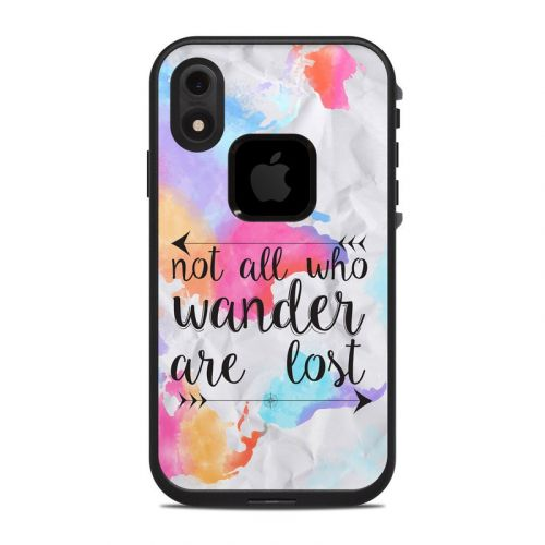 Wander LifeProof iPhone XR fre Case Skin