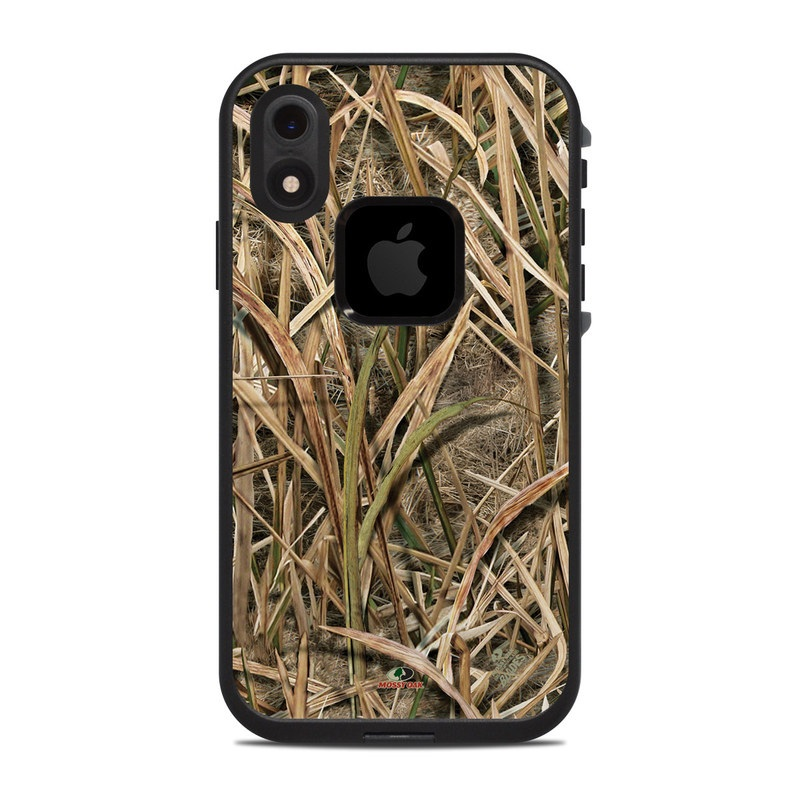 LifeProof iPhone XR fre Case Skin design of Grass, Straw, Plant, Grass family, Twig, Adaptation, Agriculture with black, green, gray, red colors