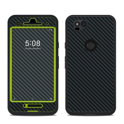 Carbon LifeProof Pixel 2 fre Case Skin