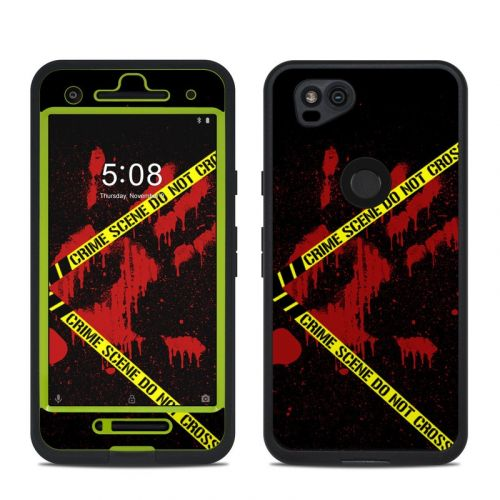 Crime Scene LifeProof Pixel 2 fre Case Skin