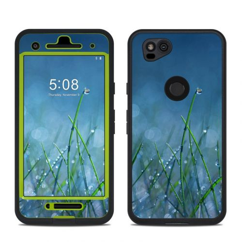 Dew LifeProof Pixel 2 fre Case Skin