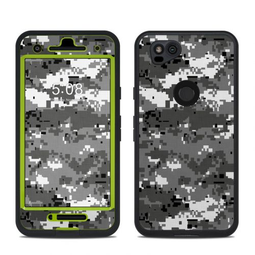 Digital Urban Camo LifeProof Pixel 2 fre Case Skin