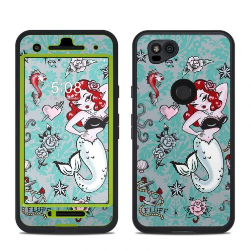 Molly Mermaid LifeProof Pixel 2 fre Case Skin