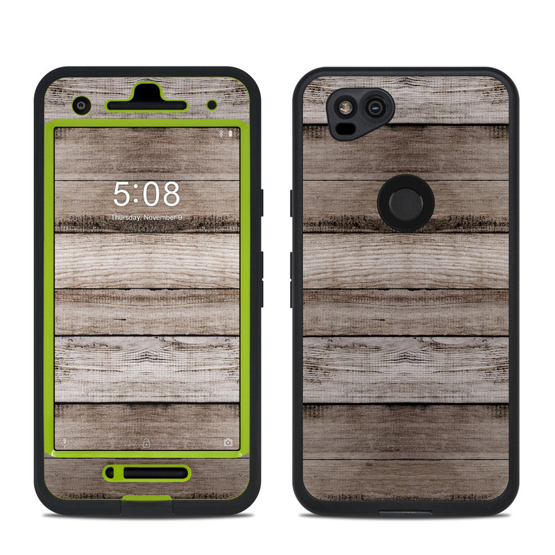Barn Wood LifeProof Pixel 2 fre Case Skin