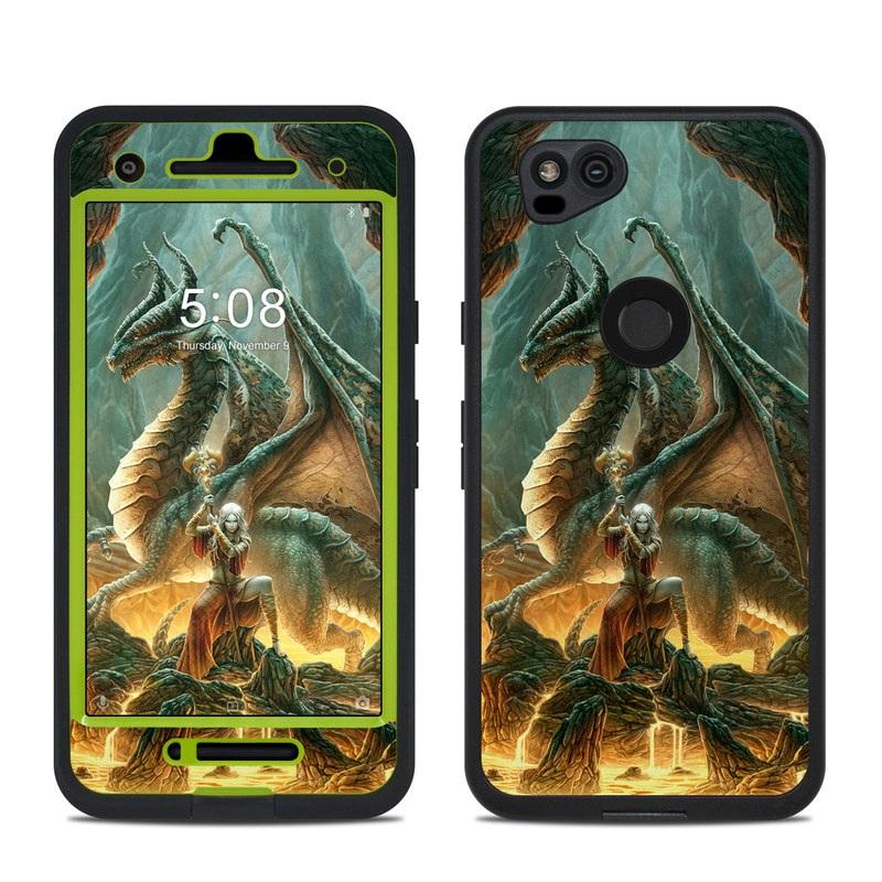 Dragon Mage LifeProof Pixel 2 fre Case Skin