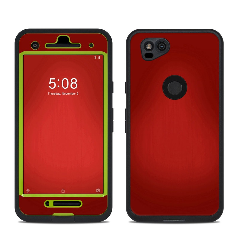 LifeProof Pixel 2 fre Case Skin design of Red, Maroon, Orange, Brown, Peach, Pattern, Magenta with red colors