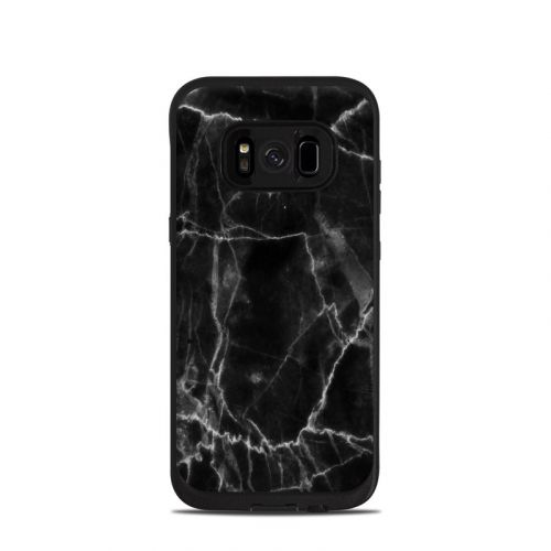 Black Marble LifeProof Galaxy S8 fre Case Skin