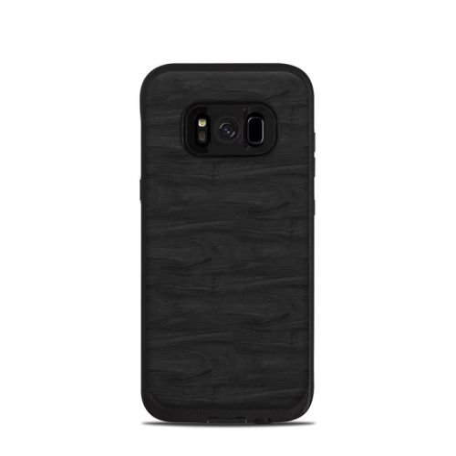 Black Woodgrain LifeProof Galaxy S8 fre Case Skin