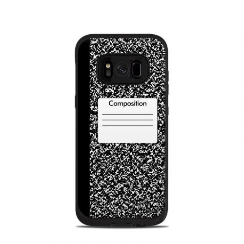 Composition Notebook LifeProof Galaxy S8 fre Case Skin