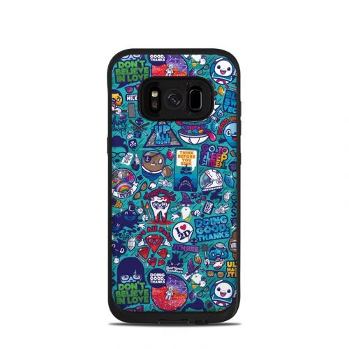 Cosmic Ray LifeProof Galaxy S8 fre Case Skin