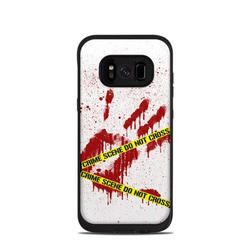 Crime Scene Revisited LifeProof Galaxy S8 fre Case Skin