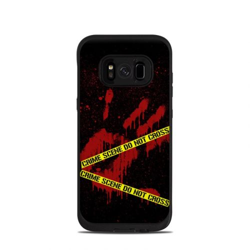 Crime Scene LifeProof Galaxy S8 fre Case Skin