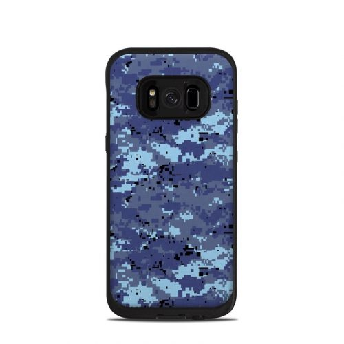 Digital Sky Camo LifeProof Galaxy S8 fre Case Skin