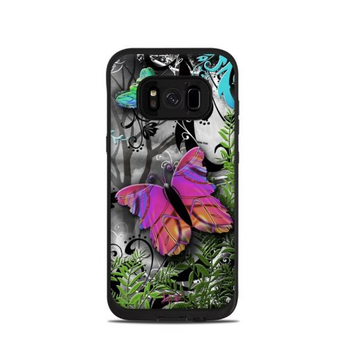 Goth Forest LifeProof Galaxy S8 fre Case Skin