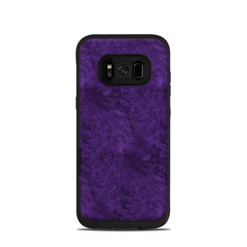 Purple Lacquer LifeProof Galaxy S8 fre Case Skin