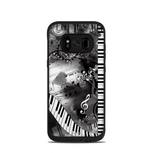 Piano Pizazz LifeProof Galaxy S8 fre Case Skin