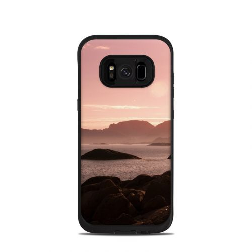 Pink Sea LifeProof Galaxy S8 fre Case Skin