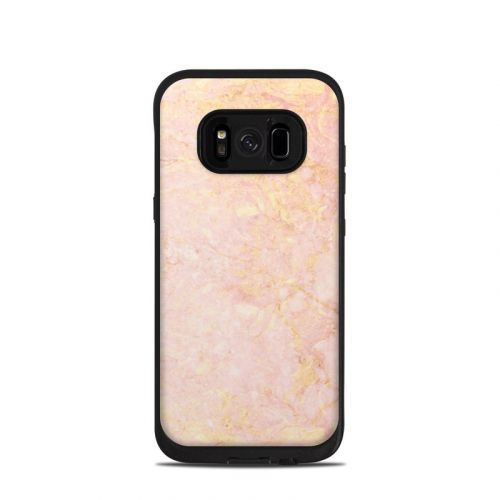 Rose Gold Marble LifeProof Galaxy S8 fre Case Skin