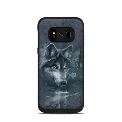 Wolf Reflection LifeProof Galaxy S8 fre Case Skin