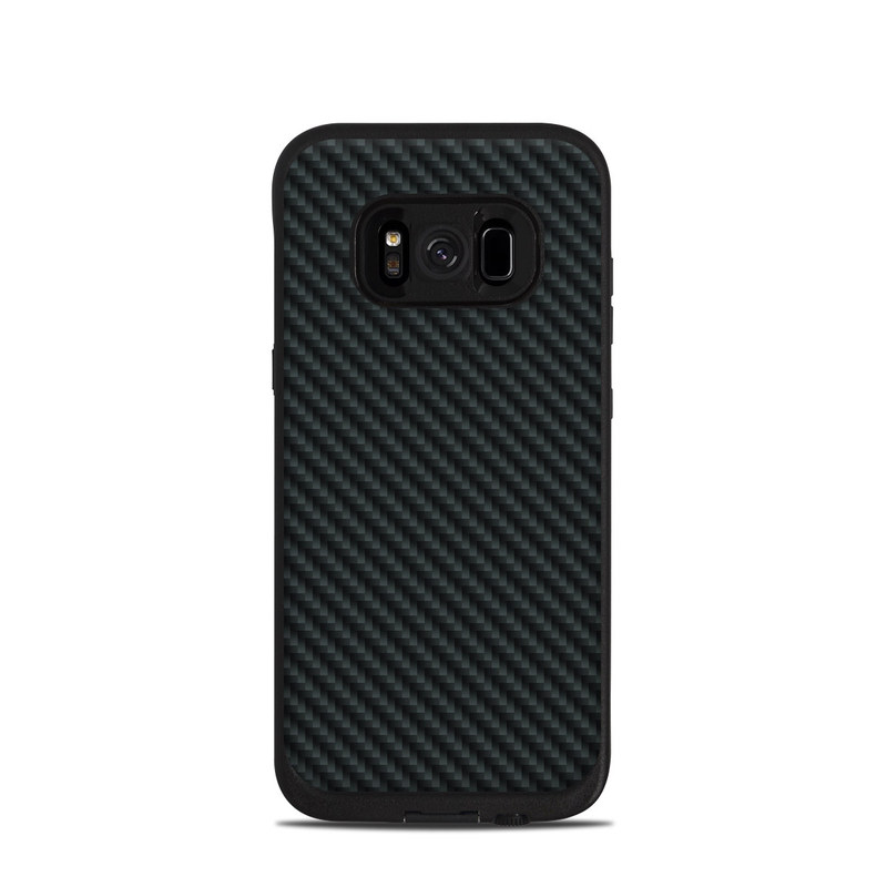 Carbon LifeProof Galaxy S8 fre Case Skin