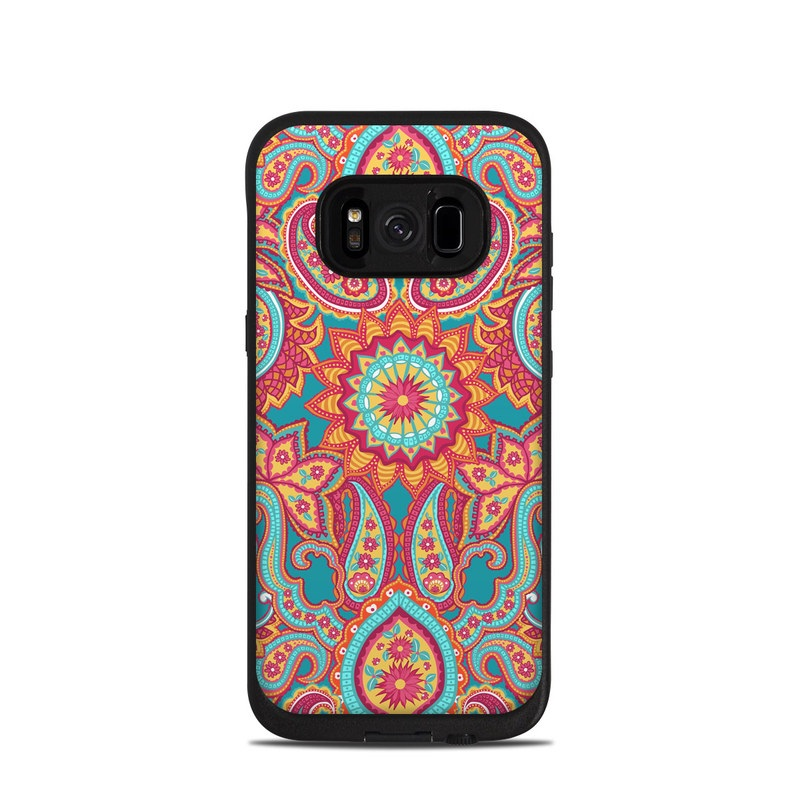 Carnival Paisley LifeProof Galaxy S8 fre Case Skin