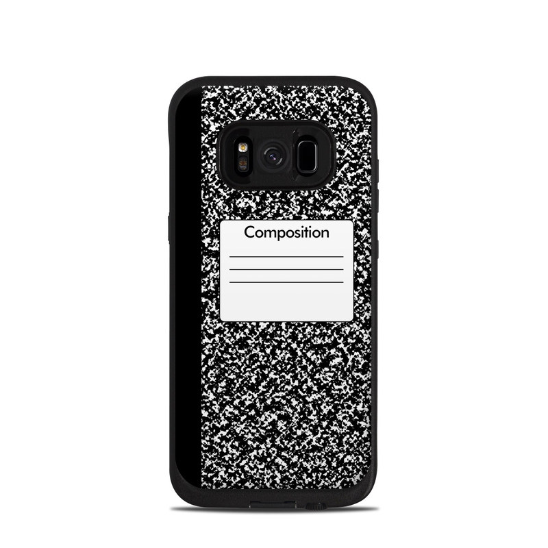 save off 4fb79 f0e78 Composition Notebook LifeProof Galaxy S8 fre Case Skin