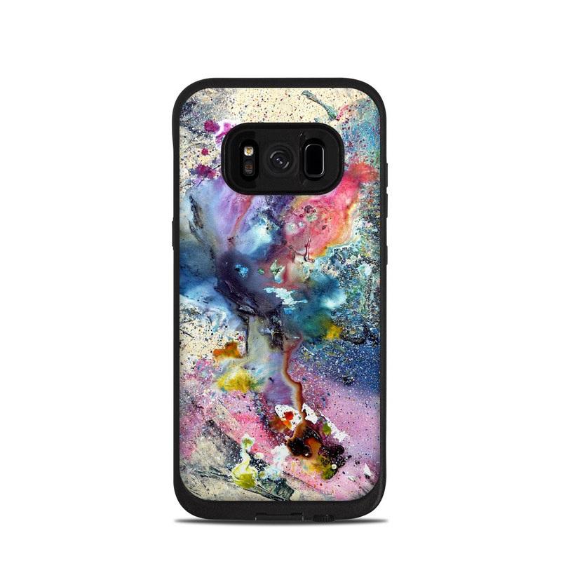 Cosmic Flower LifeProof Galaxy S8 fre Case Skin