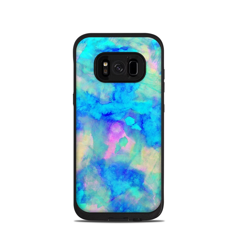 Electrify Ice Blue LifeProof Galaxy S8 fre Case Skin