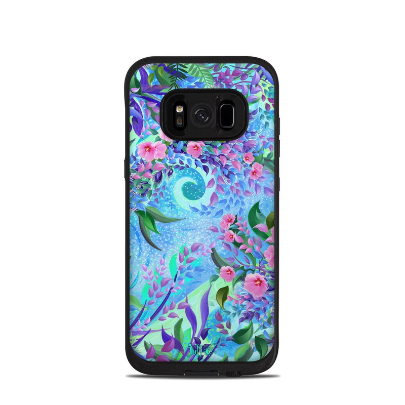 Lavender Flowers LifeProof Galaxy S8 fre Case Skin