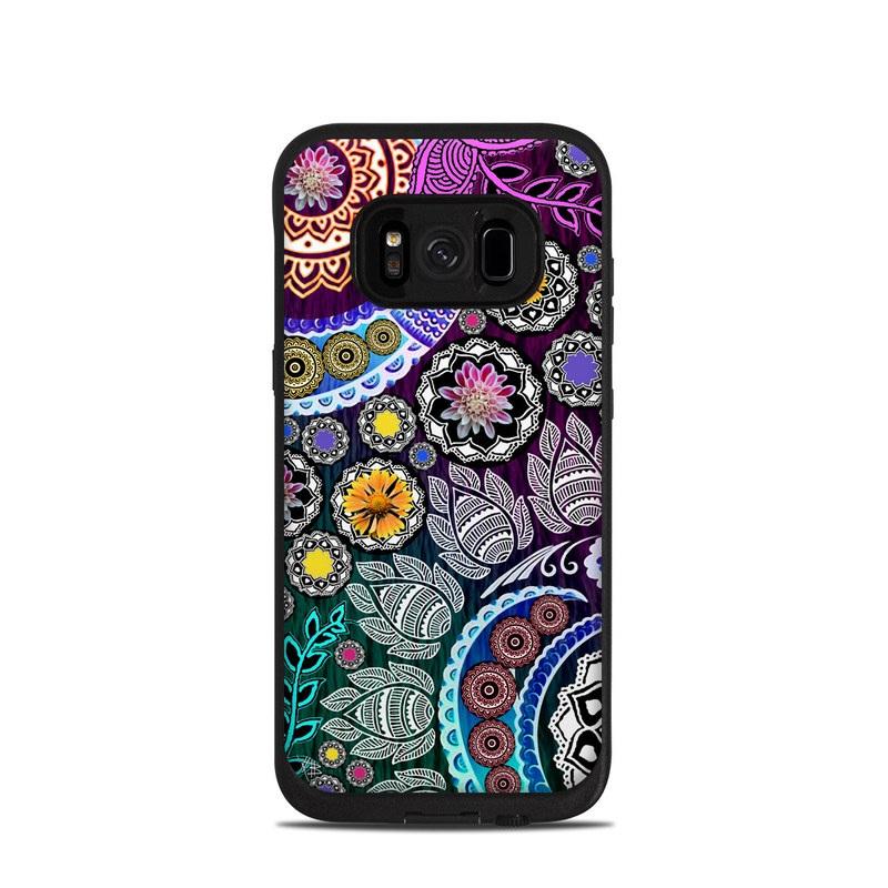Mehndi Garden LifeProof Galaxy S8 fre Case Skin