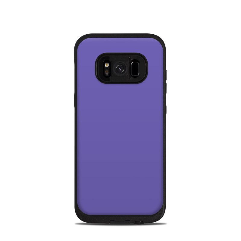 Solid State Purple LifeProof Galaxy S8 fre Case Skin