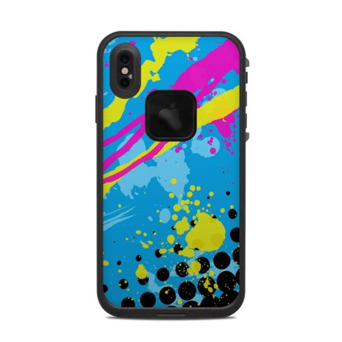 Acid LifeProof iPhone XS Max fre Case Skin