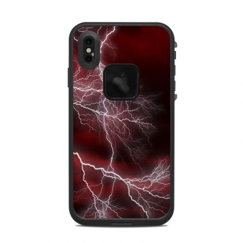 Apocalypse Red LifeProof iPhone XS Max fre Case Skin
