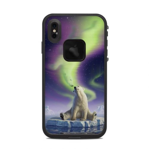 Arctic Kiss LifeProof iPhone XS Max fre Case Skin