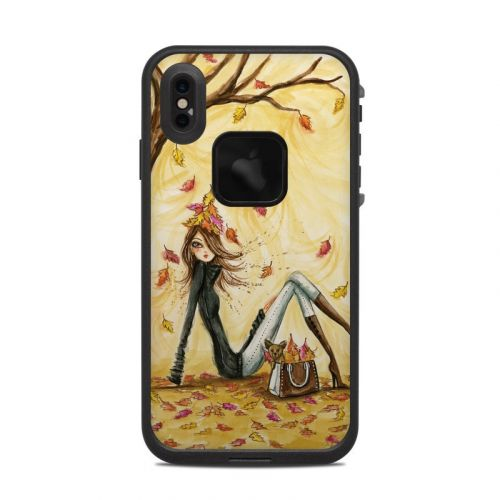 Autumn Leaves LifeProof iPhone XS Max fre Case Skin