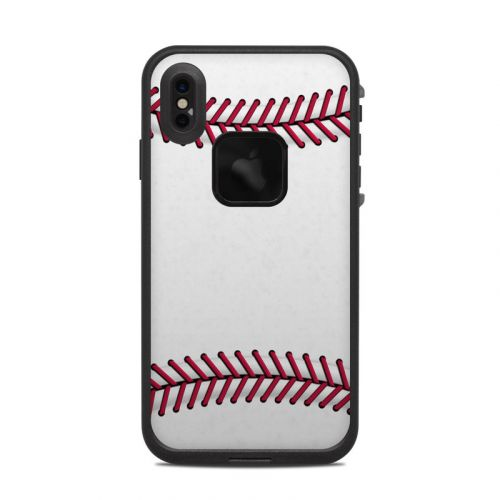 Baseball LifeProof iPhone XS Max fre Case Skin