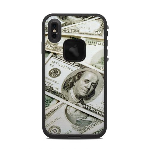 Benjamins LifeProof iPhone XS Max fre Case Skin