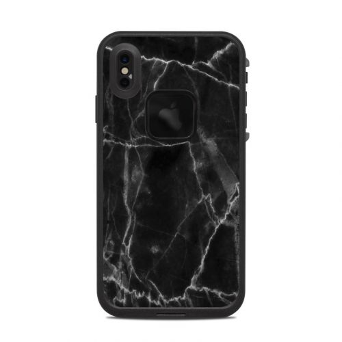 Black Marble LifeProof iPhone XS Max fre Case Skin