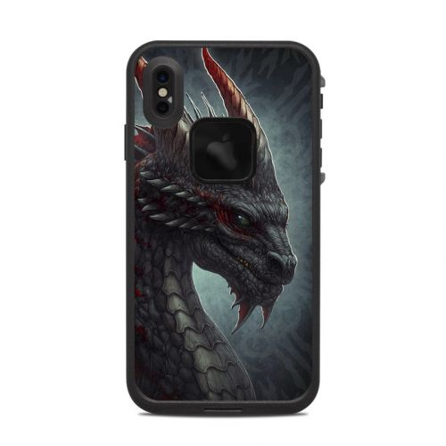 Black Dragon LifeProof iPhone XS Max fre Case Skin