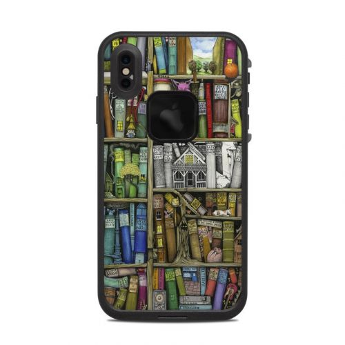 Bookshelf LifeProof iPhone XS Max fre Case Skin