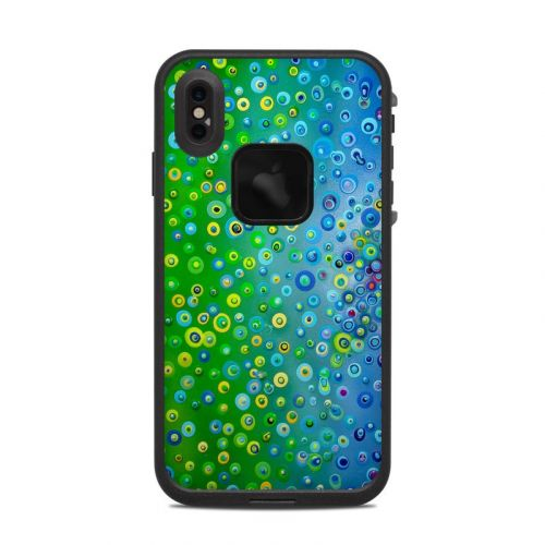 Bubblicious LifeProof iPhone XS Max fre Case Skin