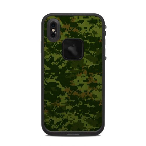 CAD Camo LifeProof iPhone XS Max fre Case Skin