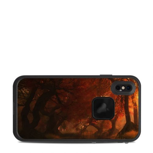 Canopy Creek Autumn LifeProof iPhone XS Max fre Case Skin