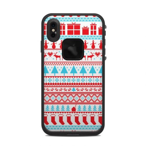 Comfy Christmas LifeProof iPhone XS Max fre Case Skin