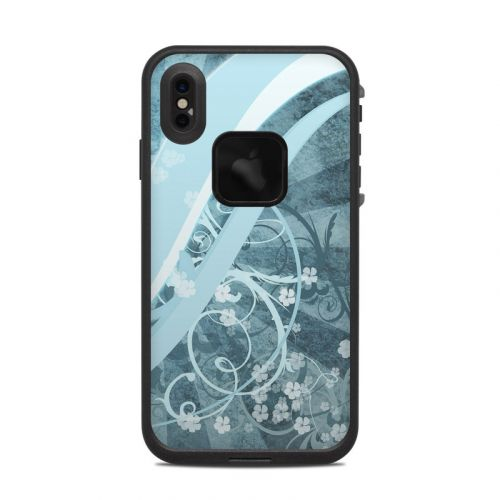 Flores Agua LifeProof iPhone XS Max fre Case Skin